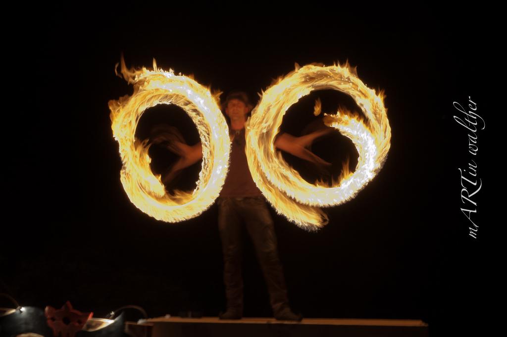 Der Feuerkünstler «Dal Chi Mist»
