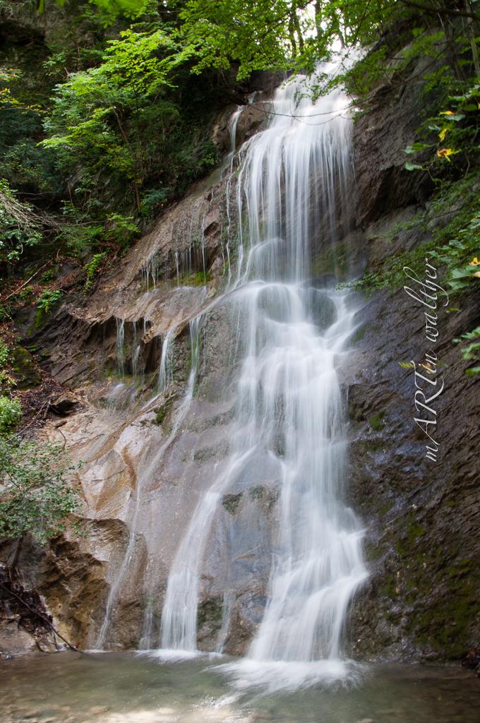 Wasserfall Saschiel im Kanton St. Gallen