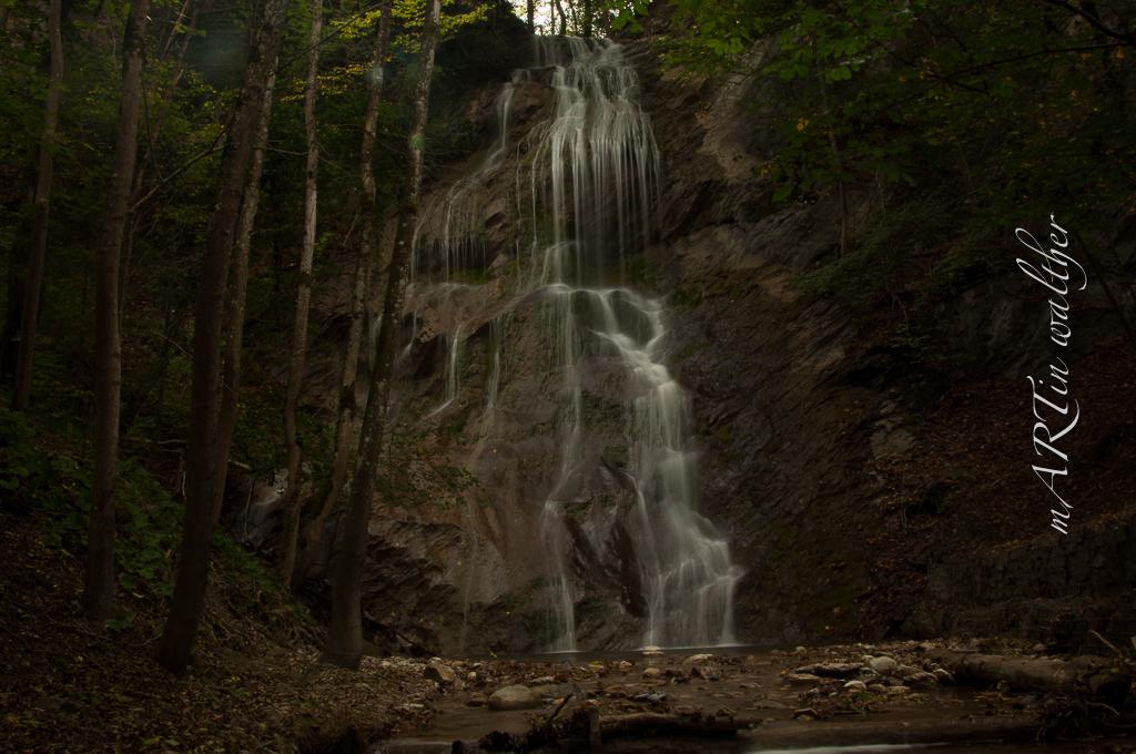 Wasserfall Saschiel