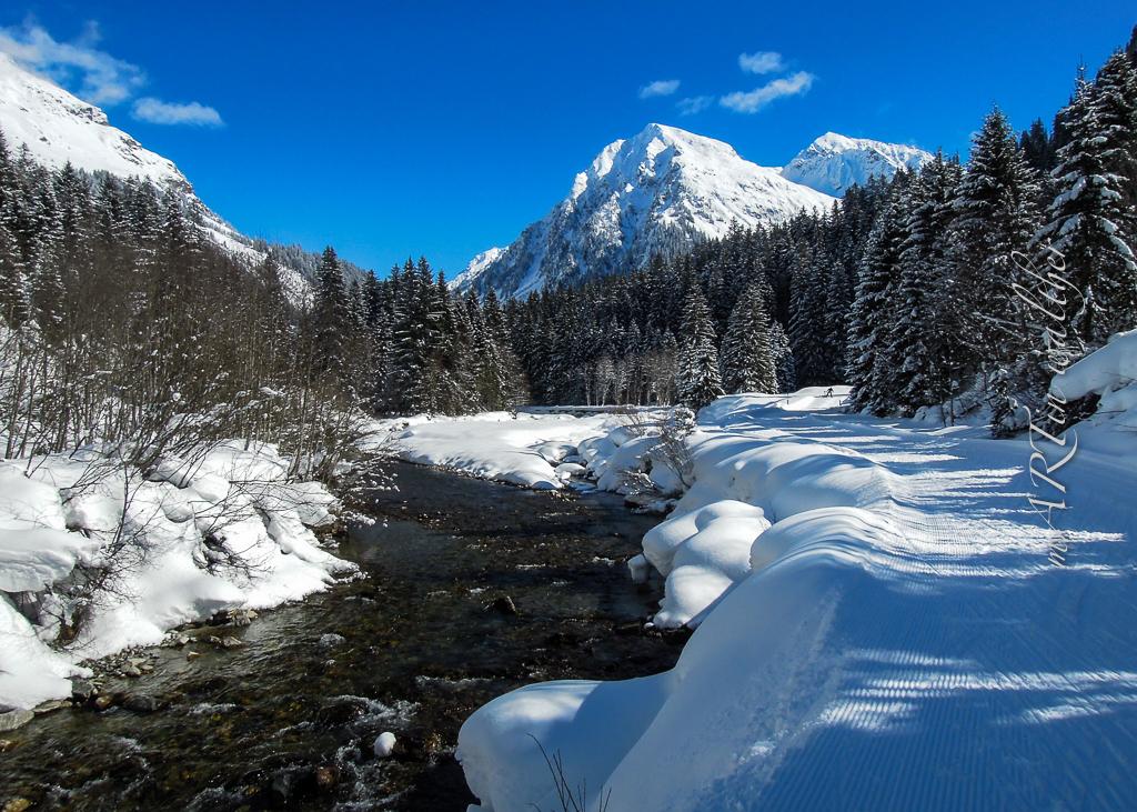 Dem Vereinabach entlang bis zur Alp Garfiun