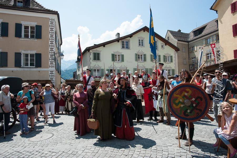 Delegation aus Curia