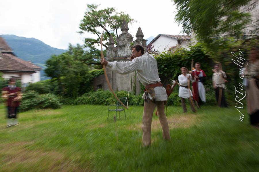 Bogenturnier mit Curia