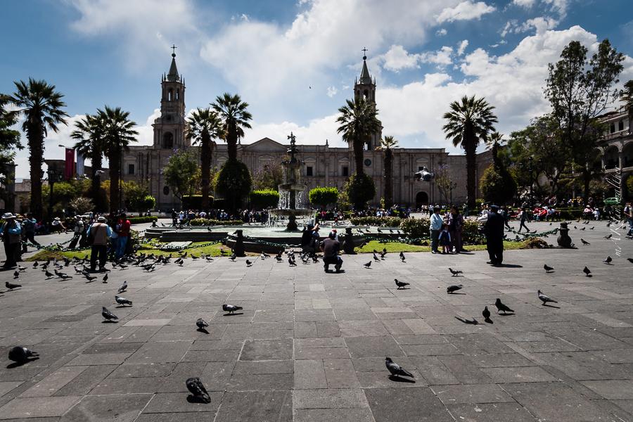 Plaza de Armas in Arequipa, Peru, Martin Walther Foto & IT