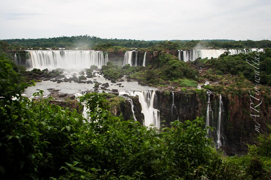 Igauzu Wasserfälle, Brasilien