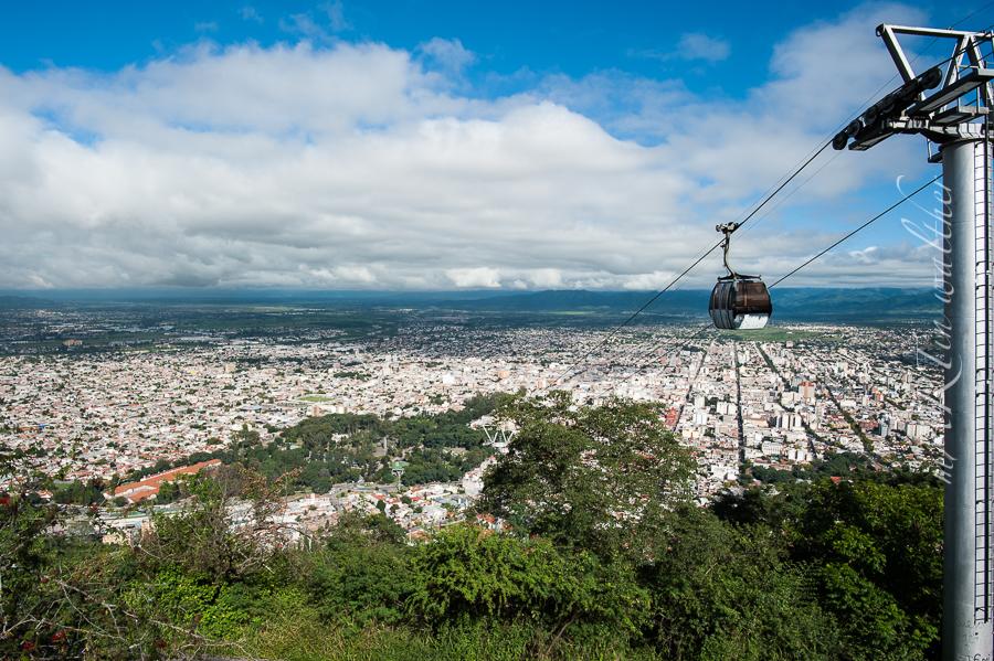 Cerro San Bernardo in Salta