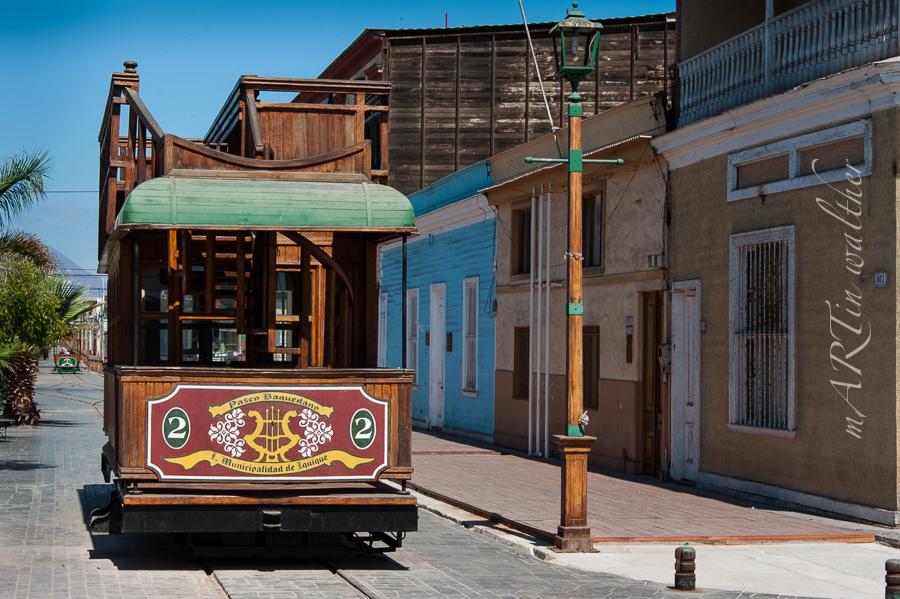 Strassenbahn von Iquique