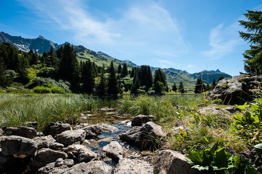 Lai Blos, Lais da Flix, Alp Flix, Graubünden, Parc Ela, Savognin