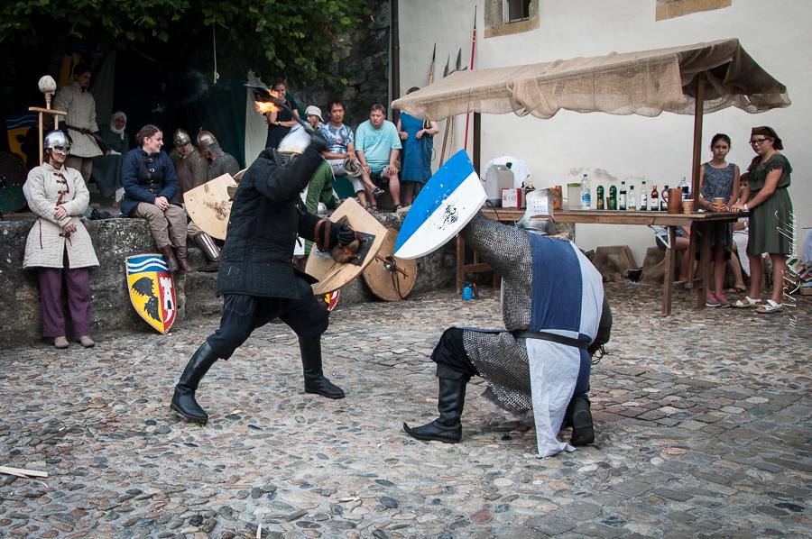 Schaukämpfe mit dem Mittelalterverein Bern