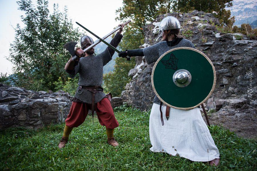 Im Mittelalter auf der Tellenburg