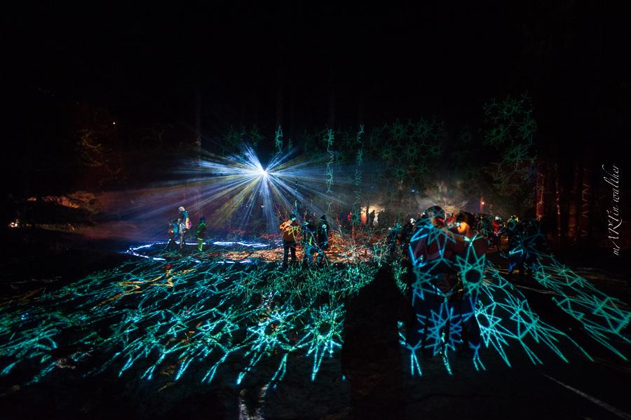 Holographisches Windspiel, Zauberwald
