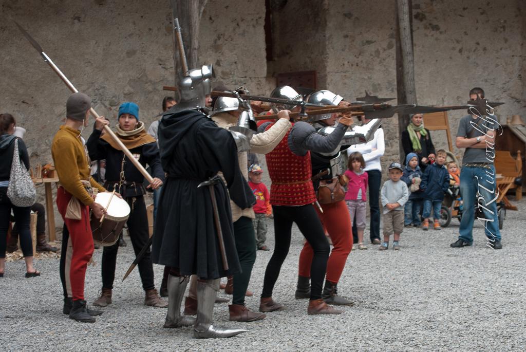 Johannisfest in Gruyères