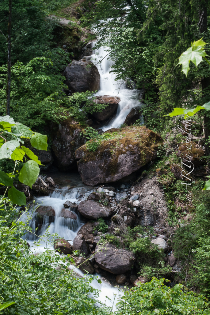 Wasserfälle im Heidiland