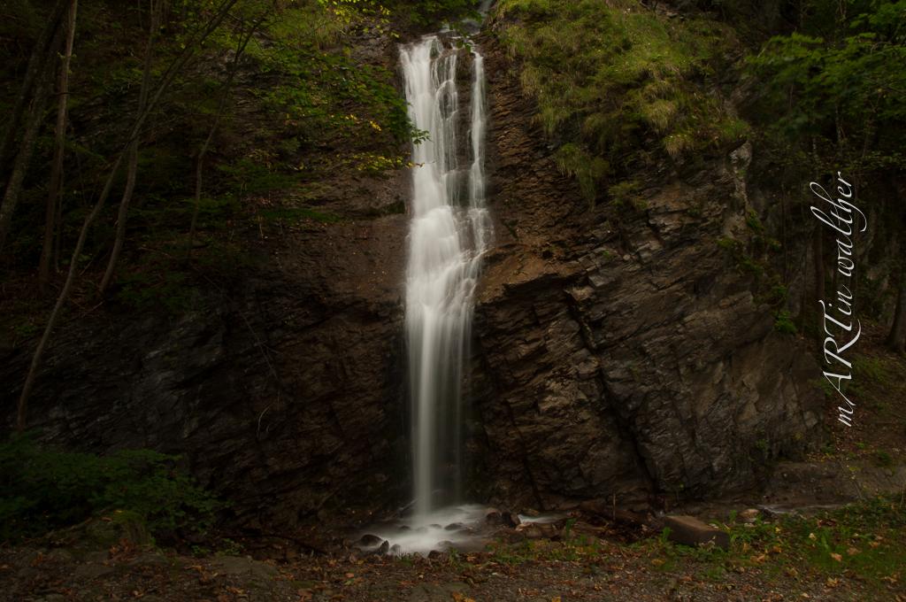 Wasserfall zwischen Saschiel- und Saarfall