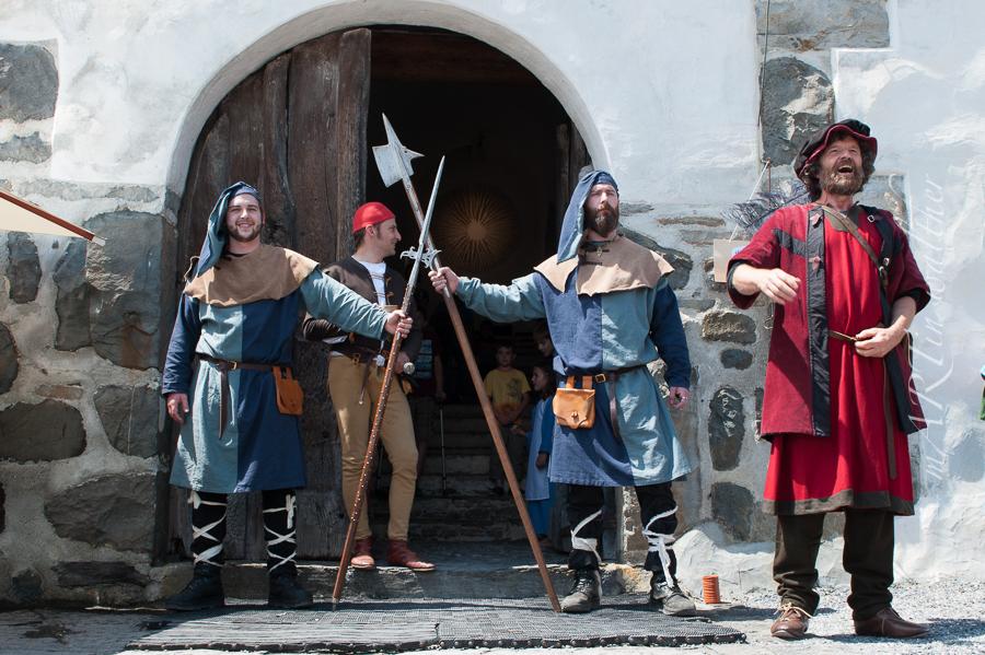 Mittelaltertag auf Schloss Werdenberg