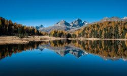 Lej da Staz – Stazersee, Engiadina, Herbst