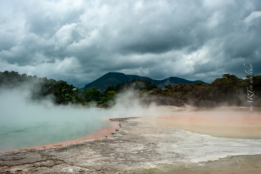 Champagne Pool,Norsinsel, Neuseeland, New Zealand,Wai-O-Tapu Thermal Wonderland