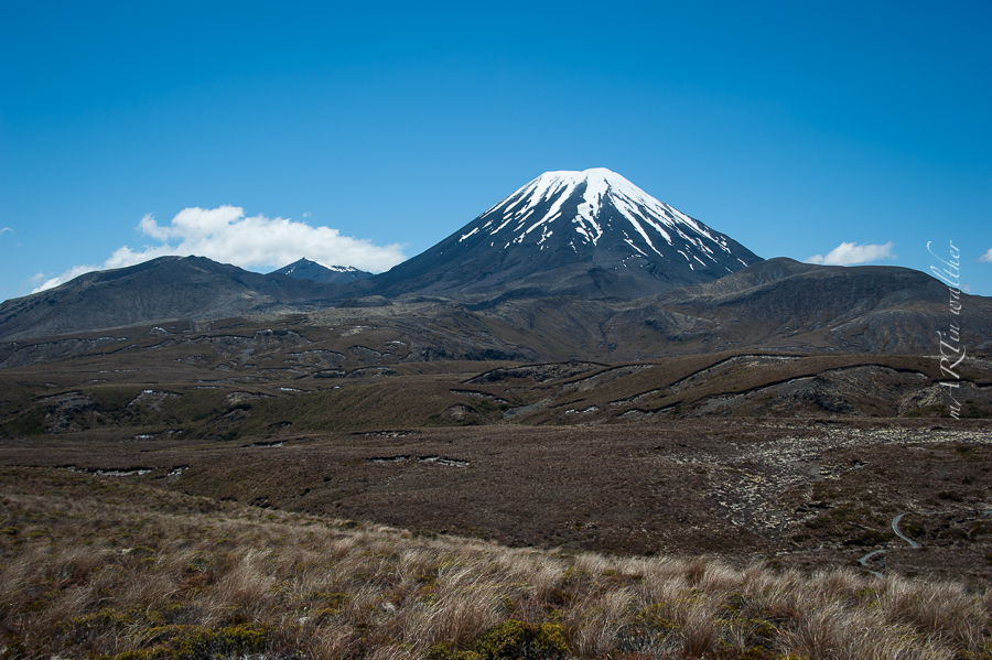 Norsinsel, Neuseeland, New Zealand,Mount Ngauruhoe,Tongariro N.P.