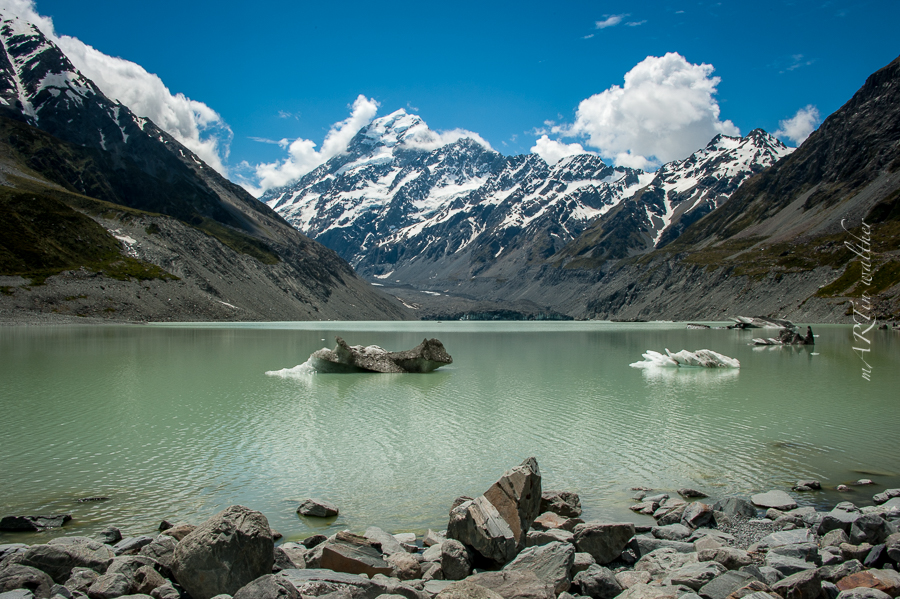 Aoraki, Mount-Cook-Nationalpark, Neuseeland, Südinsel, New Zealand
