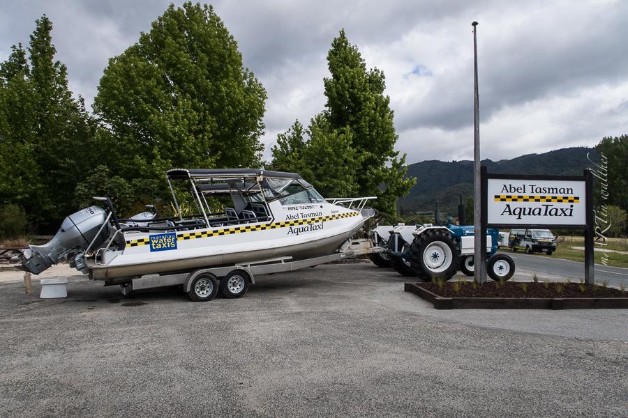 AquaTaxi, Abel Tasman,  Neuseeland, Südinsel, New Zealand