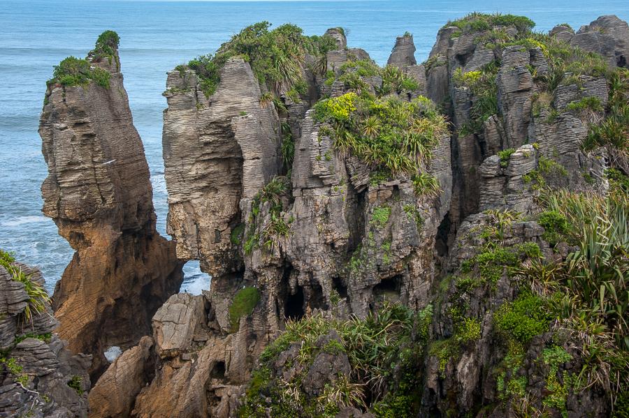 Pancacke Rocks, West Coast, Neuseeland, Südinsel, New Zealand