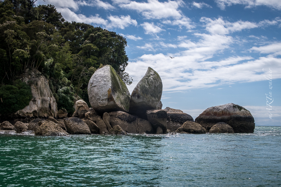 Split Apple Rock, Abel Tasman, Neuseeland, Südinsel, New Zealand