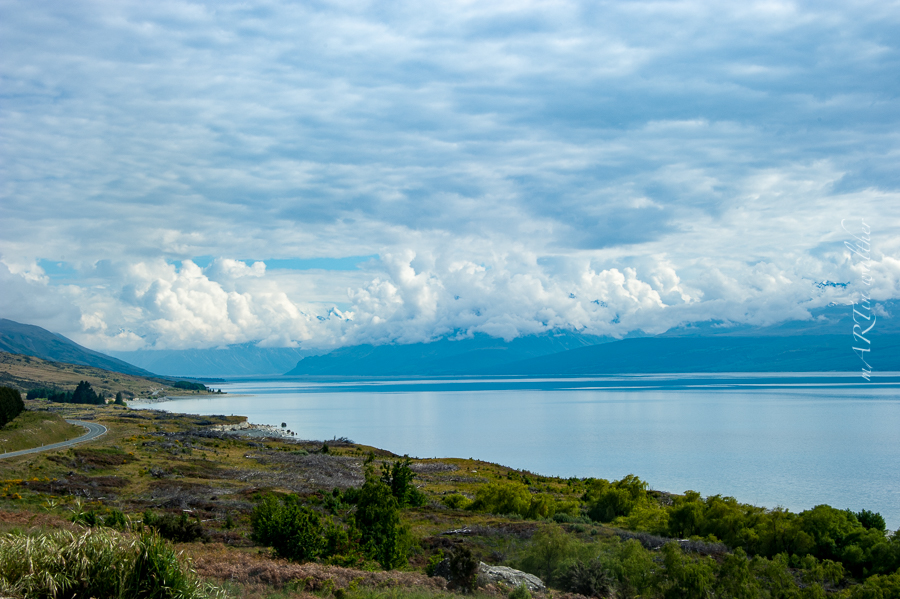 Lake Pukaki, Neuseeland, Südinsel, New Zealand