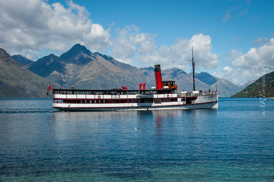 Earnslaw, Queenstown, Otago, Neuseeland, Südinsel, New Zealand