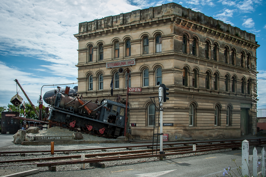 Steampunk HQ, Oamaru, Catlins, Neuseeland, Südinsel, New Zealand